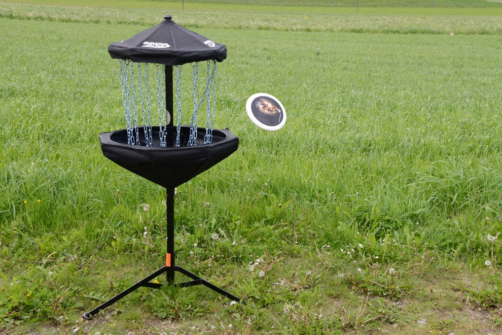 Disc Golf bei Tag