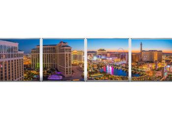 4 Mal 2x2 Meter Las Vegas Feeling