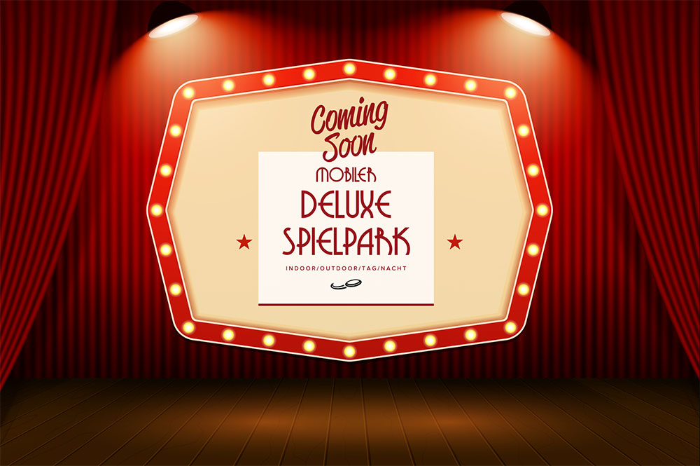 Deluxe Spielpark Events4Rent Coming Soon