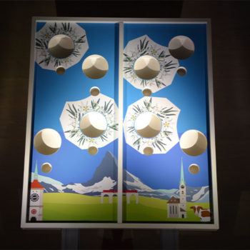 Double Cornhole Nacht Mobiler Deluxe Spielpark Events4Rent