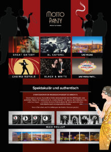 Mottoparty und Eventdeko Events4Rent