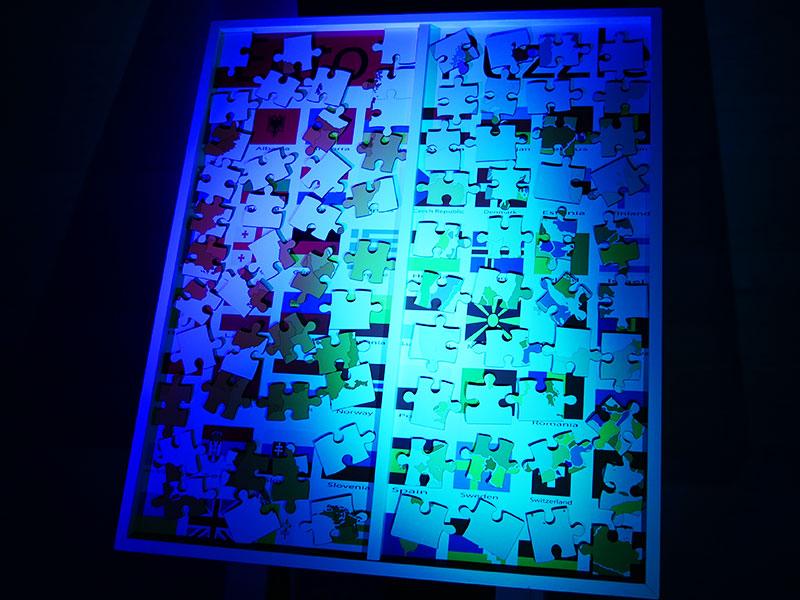 Euro Puzzle Mobiler Deluxe Spielpark Events4Rent