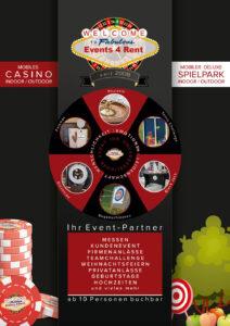 Events4Rent Unternehmensbroschüre 08/2021